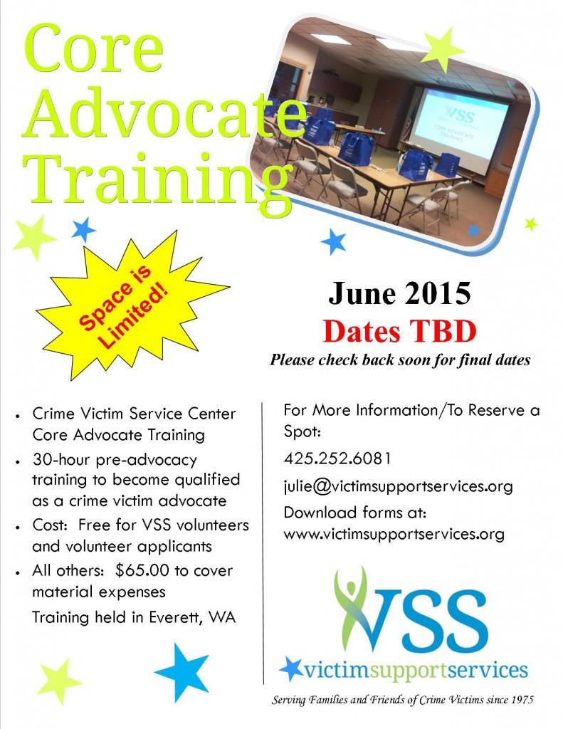 core training flyer