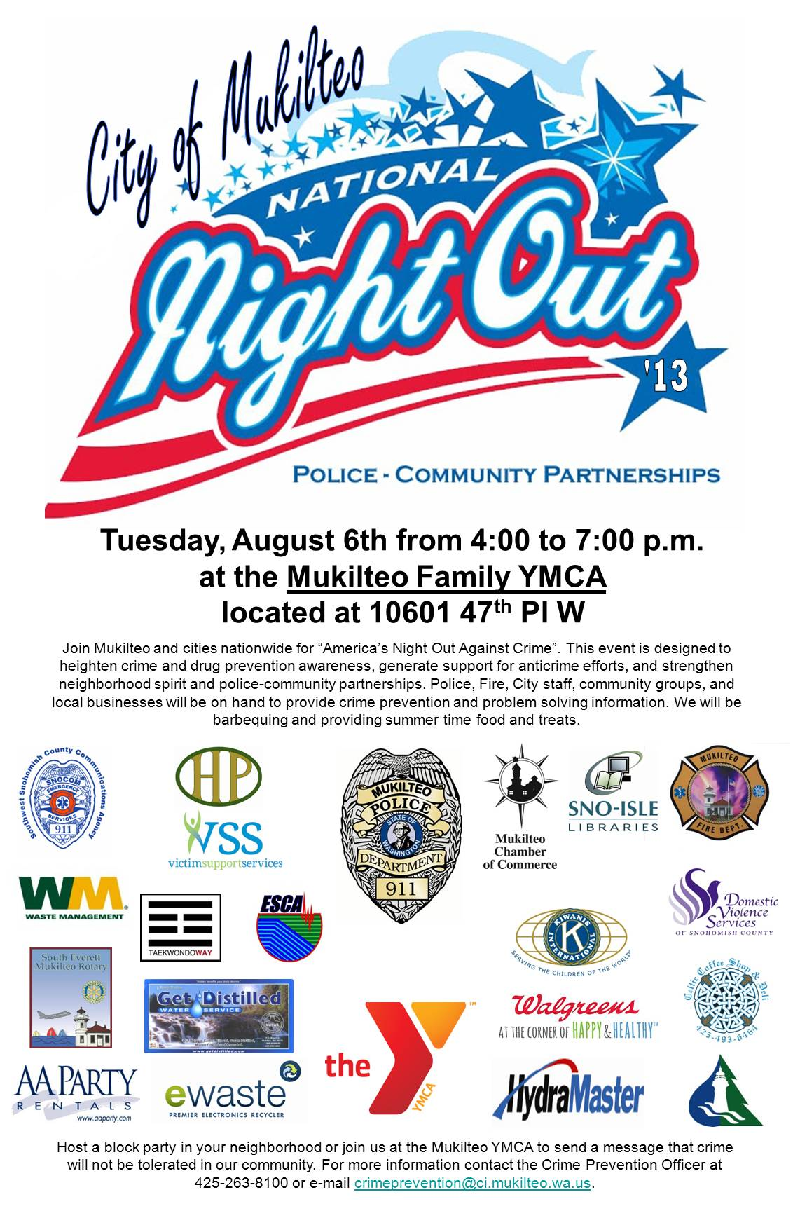 National Night Out – Victim Support Services